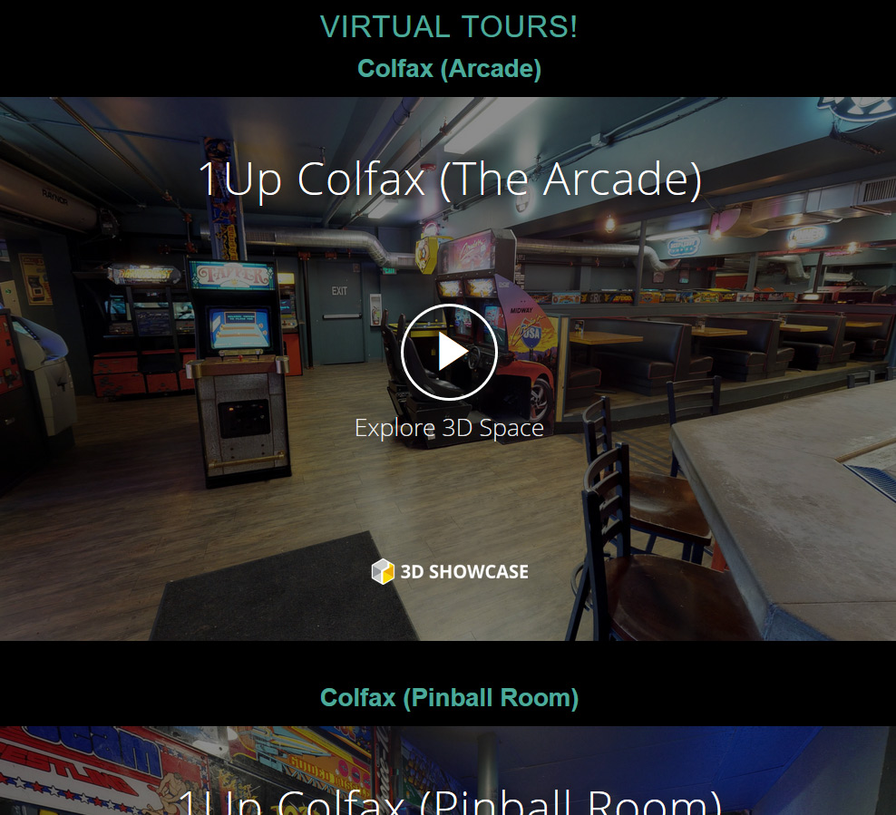 The 1up Denver, Colfax & LoDo | Atomic 6